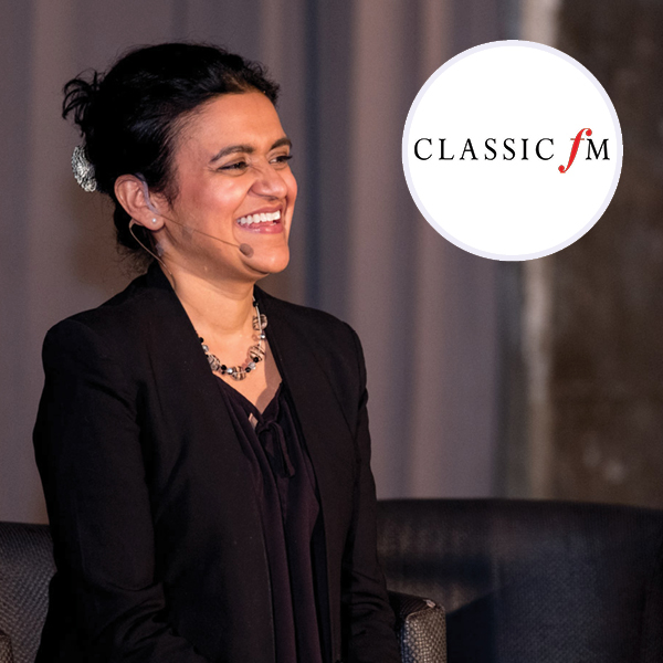 Dr Tara Swart and Classic FM